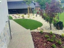 záhrada po realizácii
