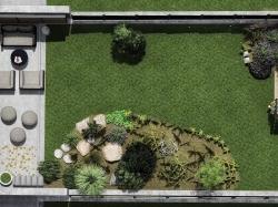 vizualizácia záhrady